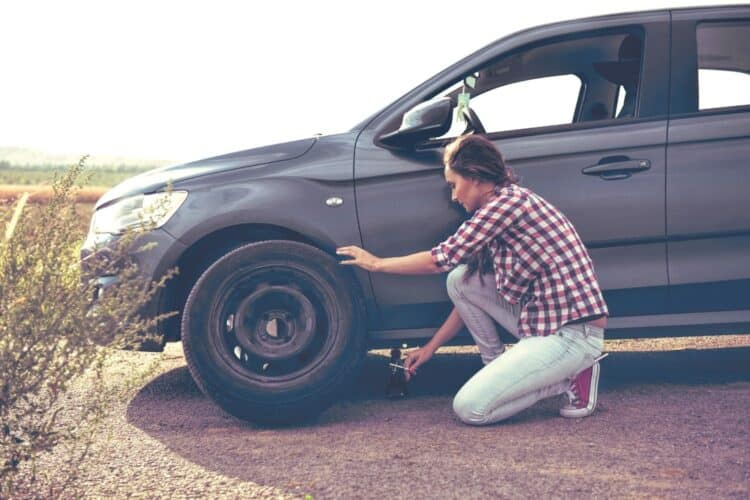 How To: Change a Flat Tire a Guide For Women